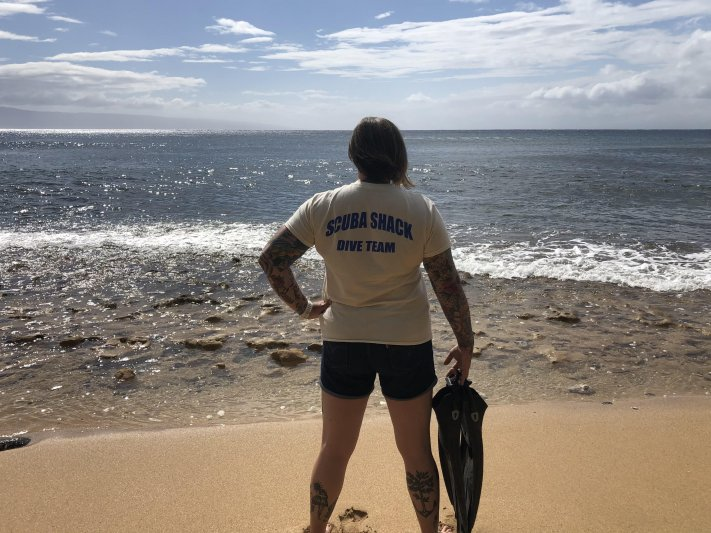 Photos of the Month - June 2021 Heather F representing Scuba Shack on Maui