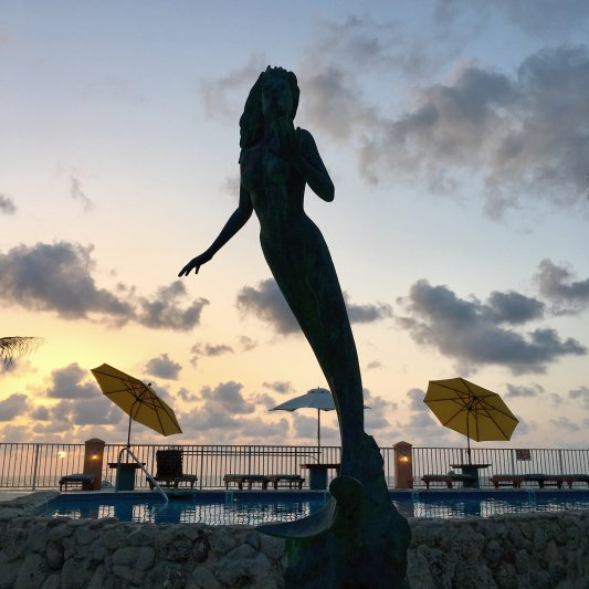 Photos of the Month - June 2021 Sunset House Mermaid - courtesy of Richard M.